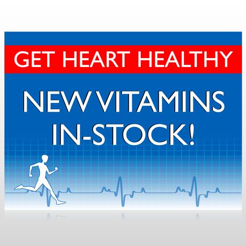 Heart Healthy 140 Floor Decal