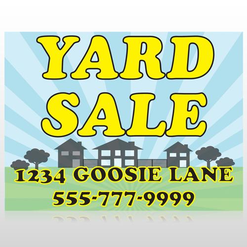 Neighbor Sale 549 Custom Sign