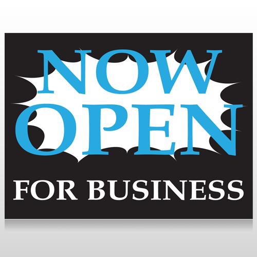 Now Open 90 Custom Sign