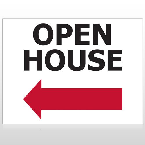 Open House 20 Custom Sign