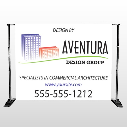 Architect 25 Pocket Banner Stand