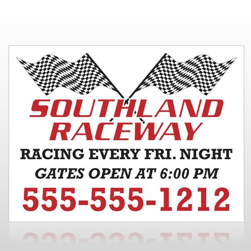 Racetrack 31 Custom Decal