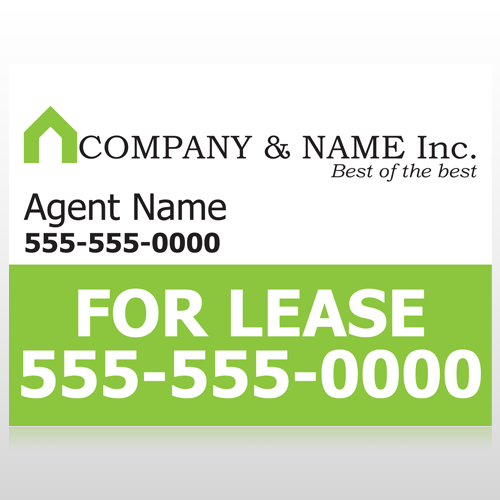 Real Estate 104 Custom Sign