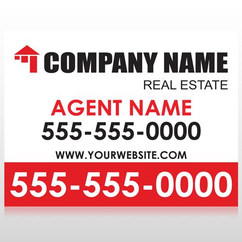 Real Estate 105 Custom Sign