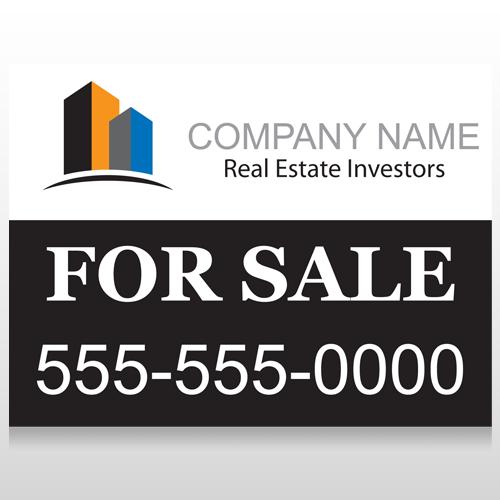 Real Estate Investors 101 Custom Sign