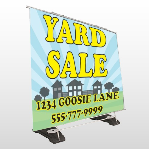 Neighbor Sale 549 Exterior Pocket Banner Stand