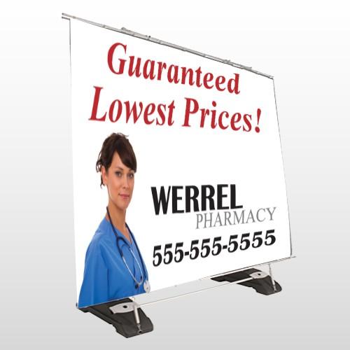 Pharmacist 104 Exterior Pocket Banner Stand