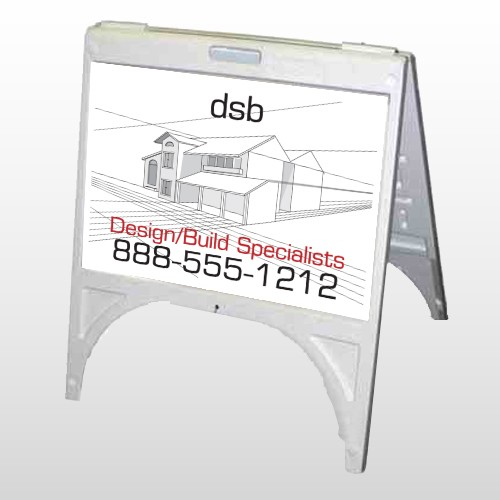 Builder 35 A Frame Sign