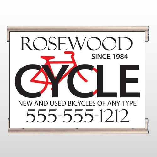 Bike Shop 33 Track Banner