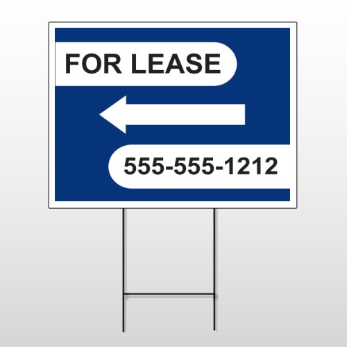 For Lease 41 Wire Frame Sign