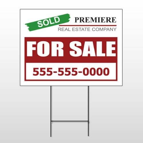 For Sale 130 Wire Frame Sign