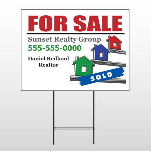 For Sale Keys 129 Wire Frame Sign