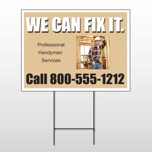 Handyman 240 Wire Frame Sign