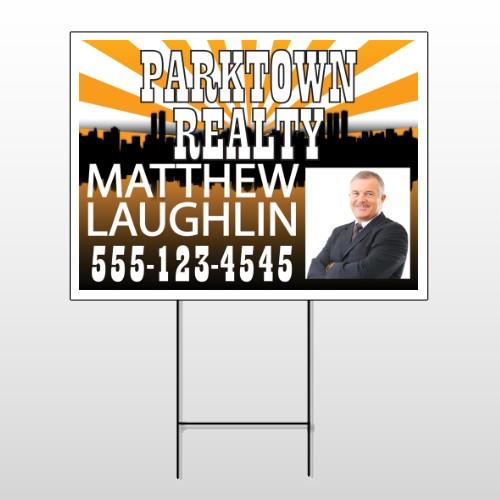 Matthew Parktown 646 Wire Frame Sign
