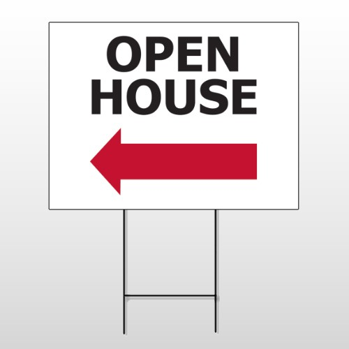 Open House 20 Wire Frame Sign