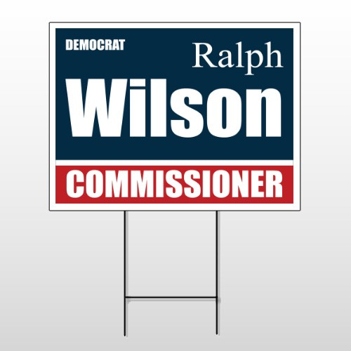 Political 38 Wire Frame Sign