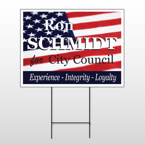 Political 39 Wire Frame Sign