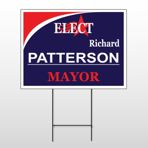 Political 41 Wire Frame Sign