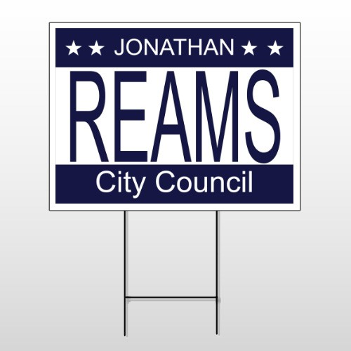 Political 48 Wire Frame Sign
