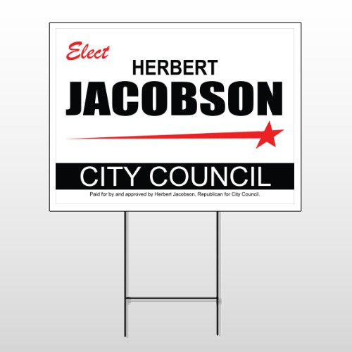 Political 67 Wire Frame Sign