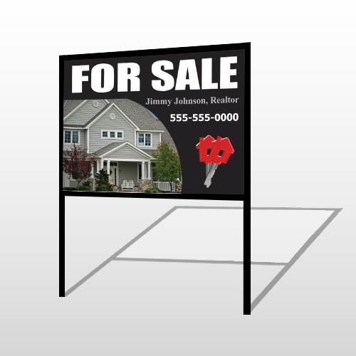For Sale 131 H-Frame Sign