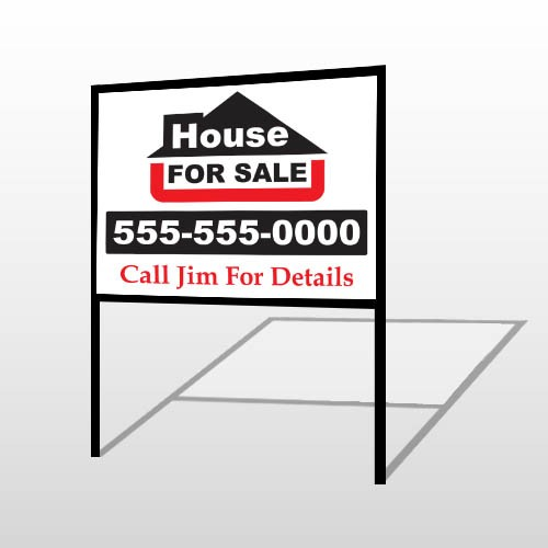 For Sale 140 H-Frame Sign