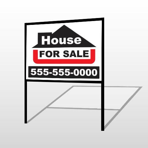 For Sale 141 H-Frame Sign
