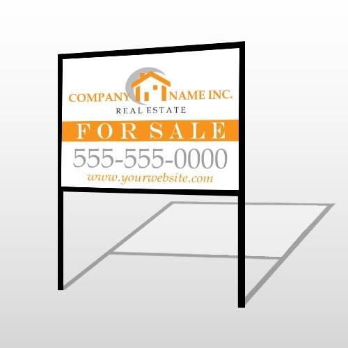 Real Estate 103 H-Frame Sign