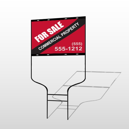 Commercial 55 Round Rod Sign