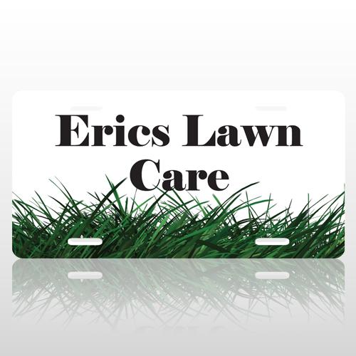 Grass 3 Licens Plate