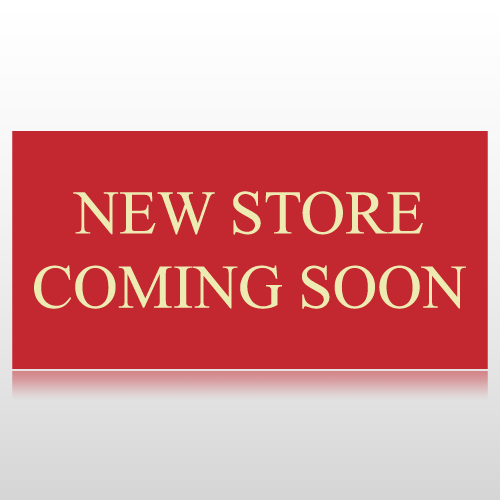New Store Coming Soon Banner