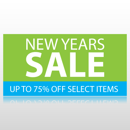 New Years Sale Banner