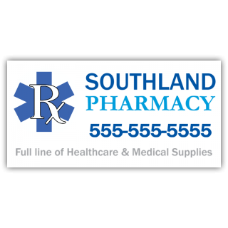 Pharmacy Magnetic Sign - Magnetic Sign