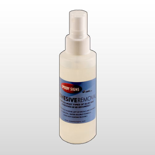 Adhesive Remover 4oz Spray Bottle