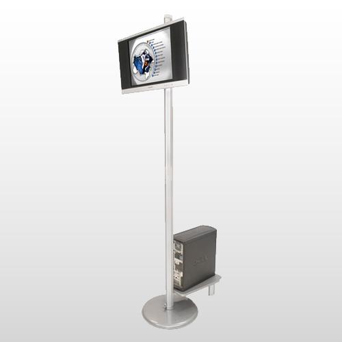Linear Monitor Kiosk