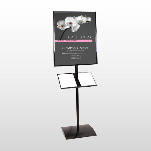 Orchid 18 Brochure Stand