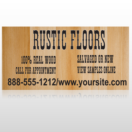 Wood Panel 248 Floor Decal