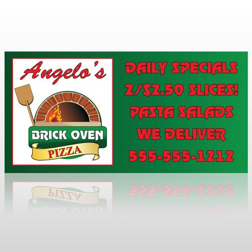 Pizza 129 Custom Sign