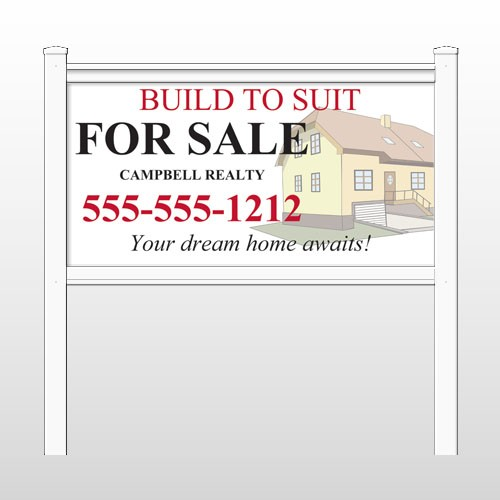 """Dream 457 48""""H x 96""""W Site Sign"""