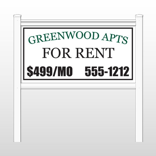 """Greenwood 467 48""""H x 96""""W Site Sign"""