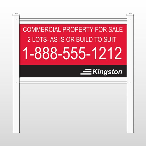"Kingston 459 48""H x 96""W Site Sign"