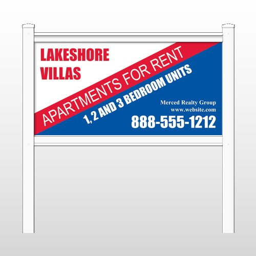 """Lakeshore 443 48""""H x 96""""W Site Sign"""