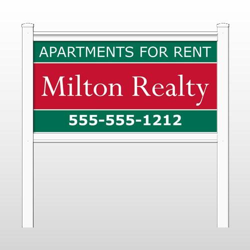 "Milton 285 48""H x 96""W Site Sign"