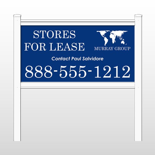 """Murray 444 48""""H x 96""""W Site Sign"""
