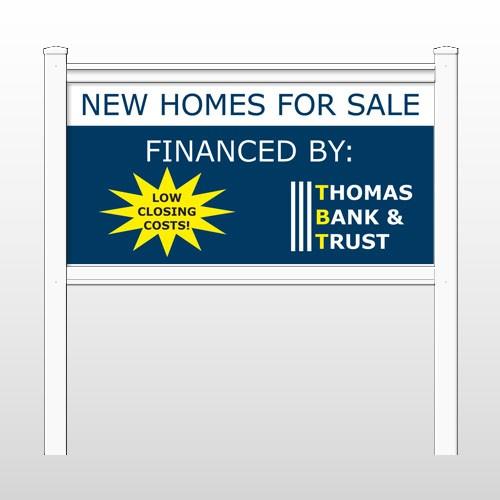 "Thomas 479 48""H x 96""W Site Sign"