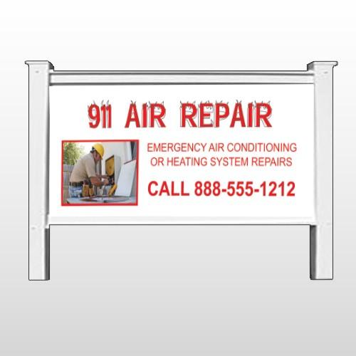 "AC Repair 251 48""H x 96""W Site Sign"