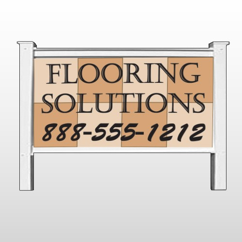 "Flooring 239 48""H x 96""W Site Sign"