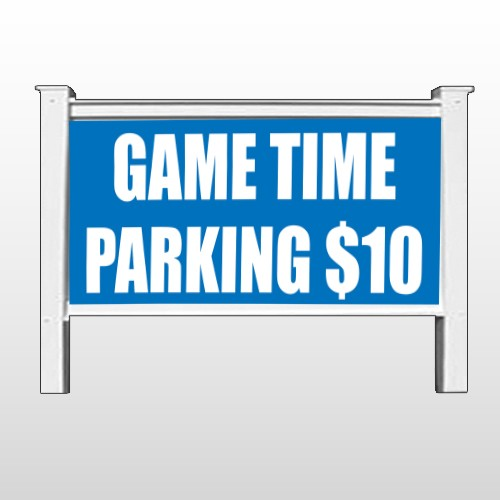 "Parking 123 48""H x 96""W Site Sign"