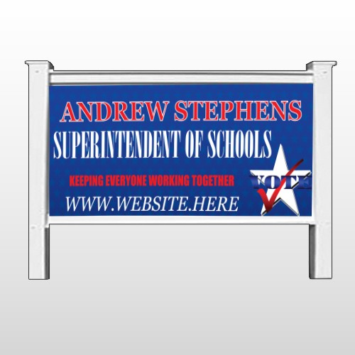 """Superintendent 306 48""""H x 96""""W Site Sign"""