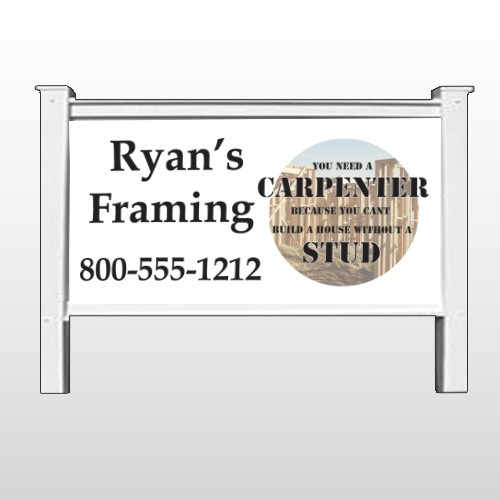 "Framing 237 48""H x 96""W Sign Site"